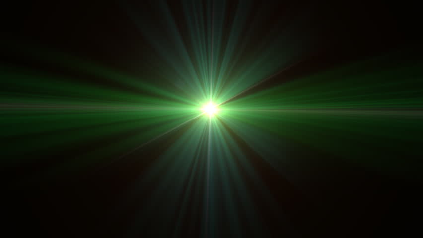 4k Disco Hypnotic Light Centerd Vj Loop Disco Effect: Lens Flare Shine Effect Stock Footage Video