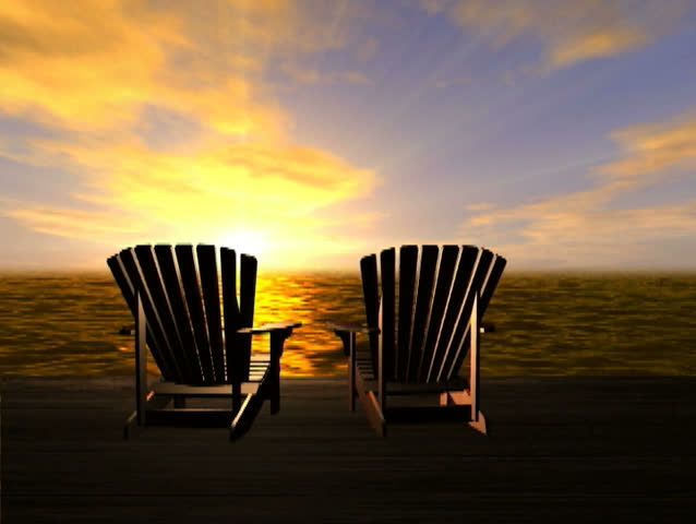 Contemporary Adirondack Chairs On Beach Sunset L To Decorating Ideas