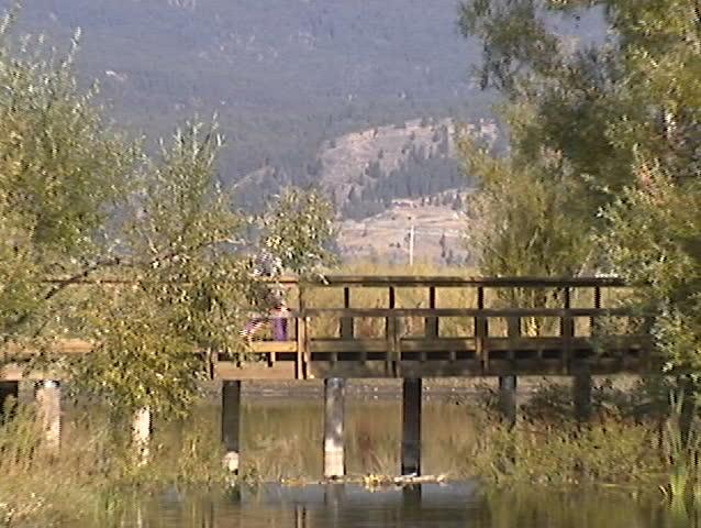 Hiker Bridge zoom