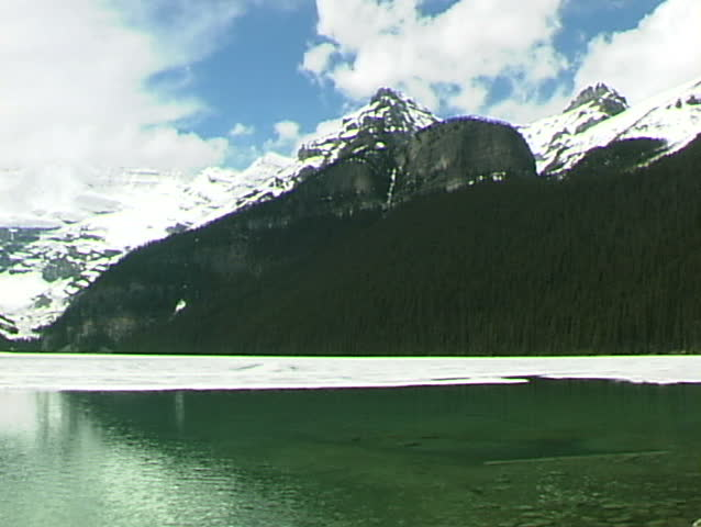 Lake Louise Green Water