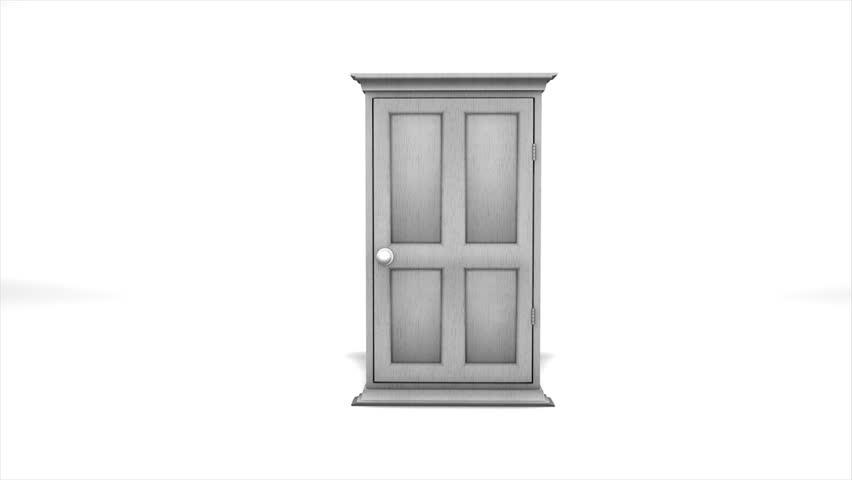 Concept animation multiple door open stock footage video 2104892 shutterstock - Several artistic concepts for main door ...