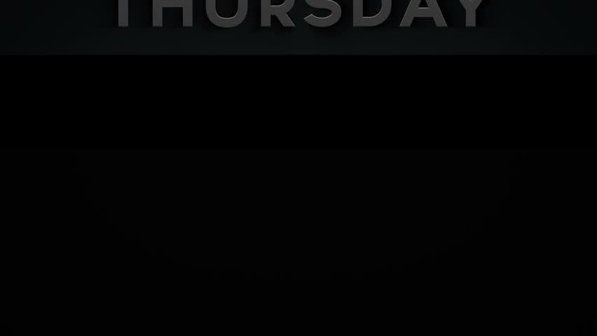 Banner - Thursday - 1