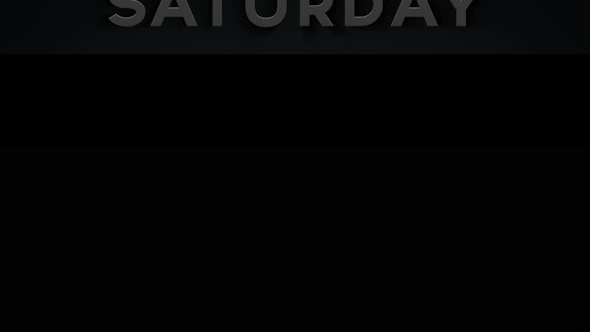 Banner - Saturday - 1