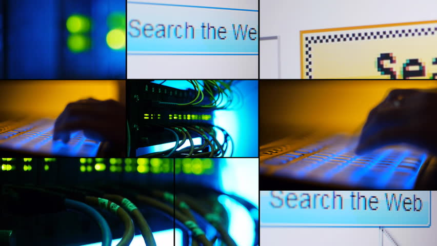 Search web - montage