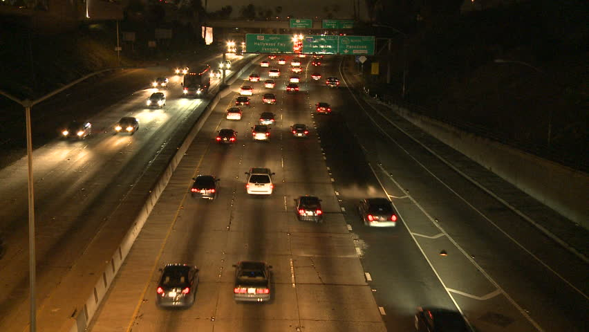 traffic at night by - photo #17