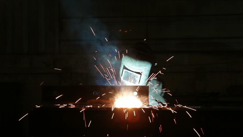Welder  - HD stock video clip