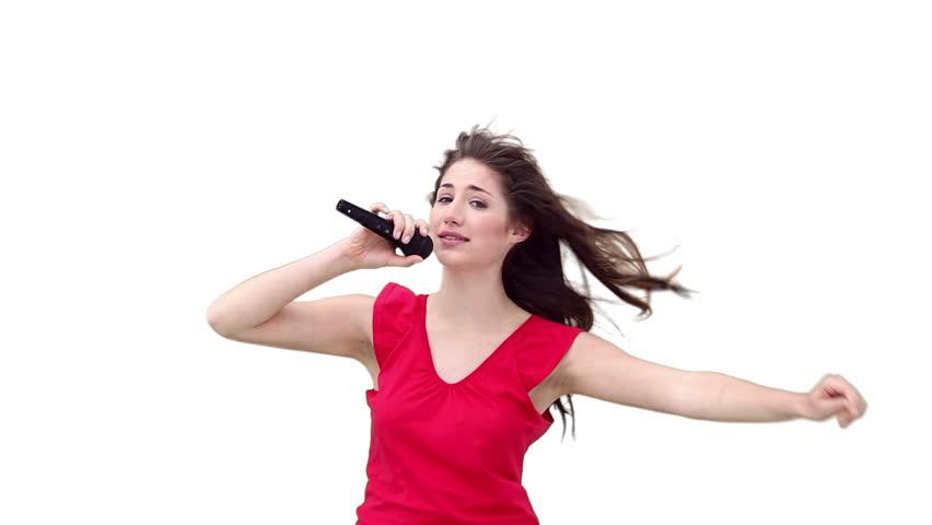 White girls singing