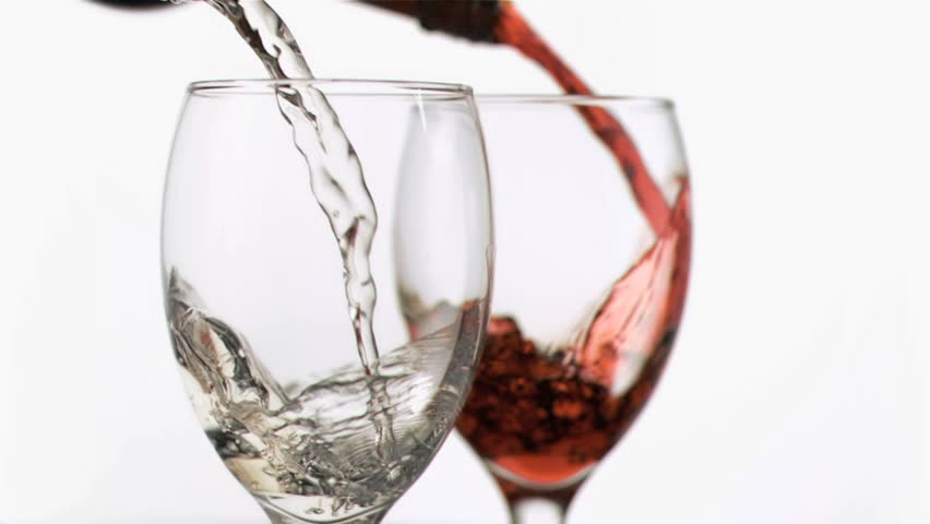 Champagne Glasses Photo Frame : Pouring Red Wine Into A Glass Stock Footage Video 2575088 ...