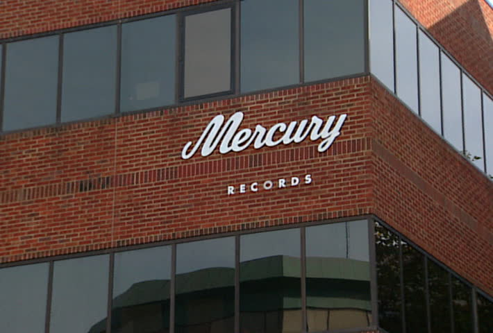 NASHVILLE - Circa 2002: Facade of the Mercury records building in Nashville, TN in 2002. - SD stock video clip