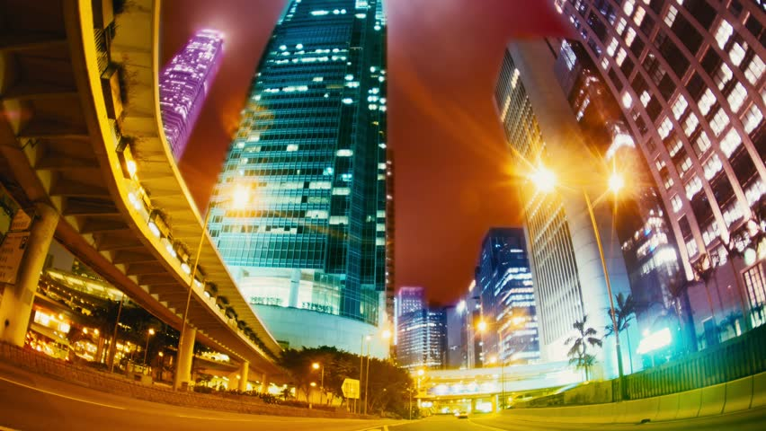 The Evening Streets of Hong Kong. Time Lapse. | Shutterstock HD Video #24793514