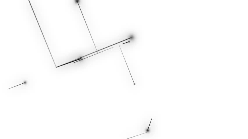 Line art ,black and white 1 | Shutterstock HD Video #24977852