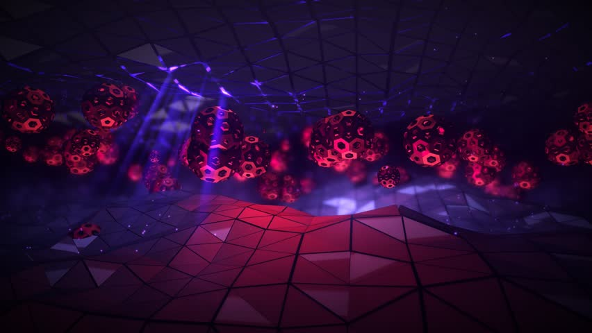 Seamlessly Looping Background Animation Of Beat Sync Objects Morphing To 128Bpm. | Shutterstock HD Video #25104068