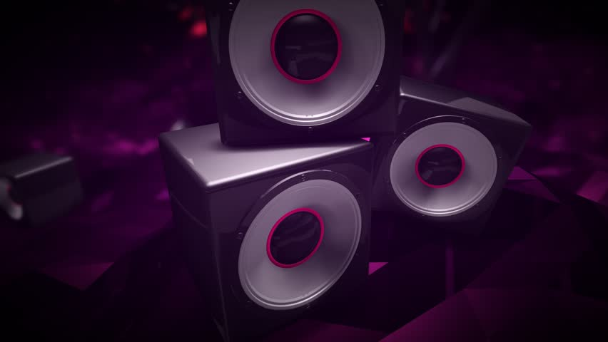 Seamlessly Looping Background Animation Of Beat Sync Objects Morphing To 128Bpm. | Shutterstock HD Video #25104077