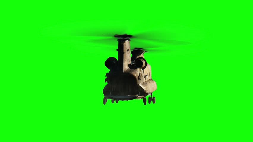 Military Transport helicopter hovering green screen   Shutterstock HD Video #25172360