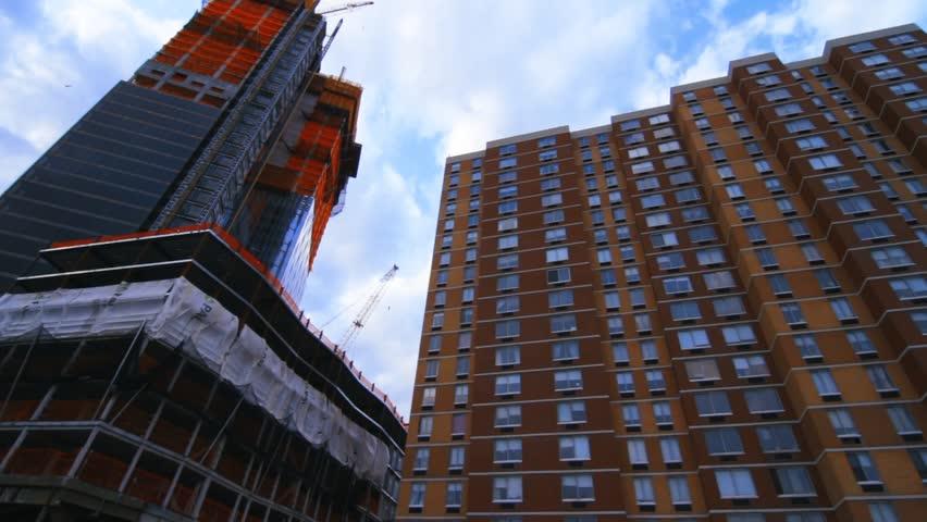 Tall Buildings In New York  | Shutterstock HD Video #25187480