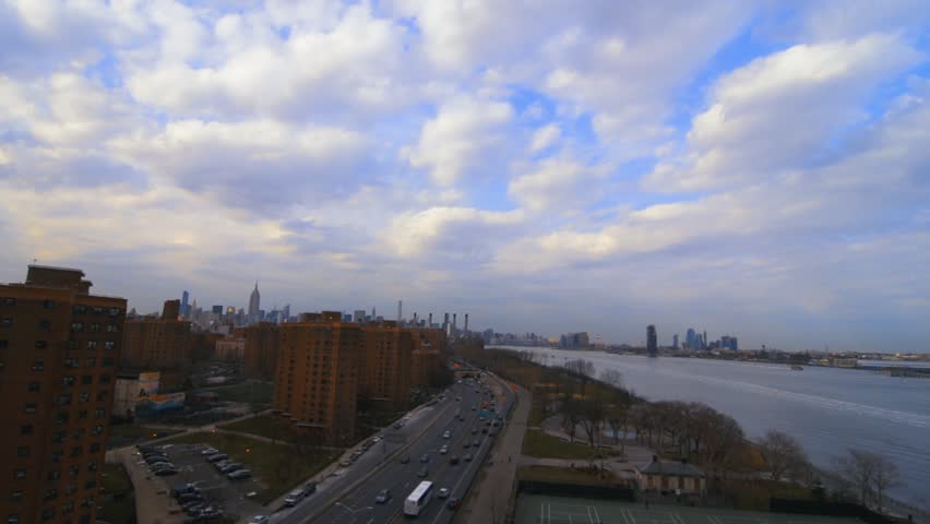Aerial View Of New York City Traffic   | Shutterstock HD Video #25187525