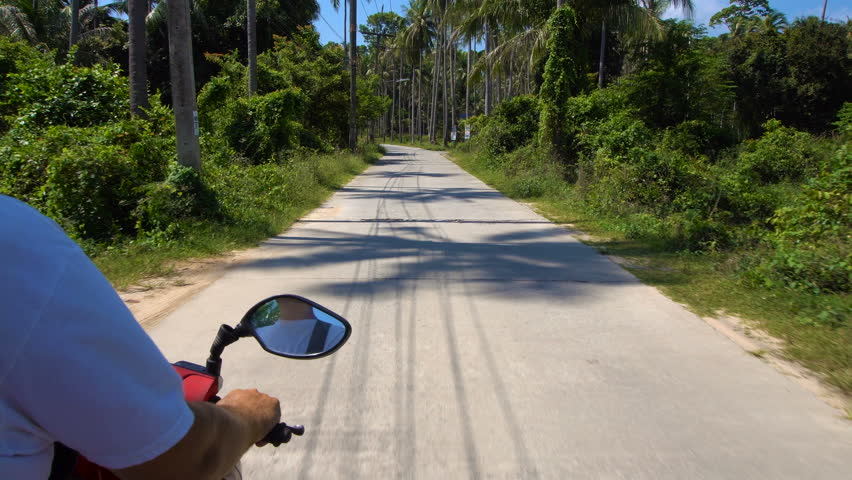 Adventure Travel. Riding Scooter in Thailand | Shutterstock HD Video #25195211