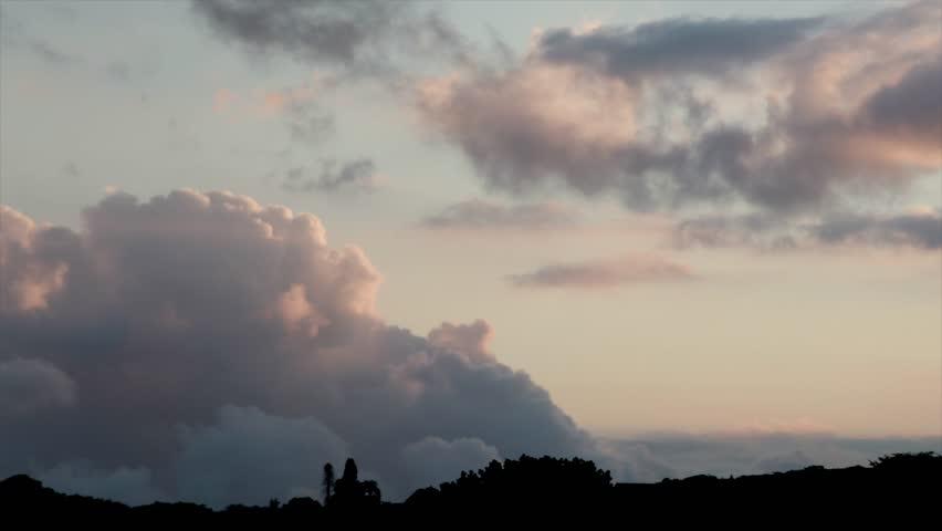 Pink fluffy cloud timelapse in 4K | Shutterstock HD Video #25352207