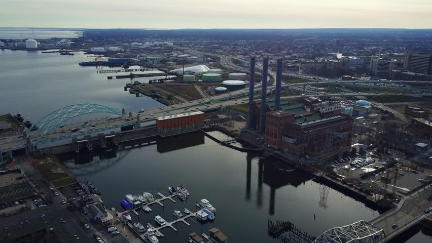 Scenic Rhode Island river | Shutterstock HD Video #25745426