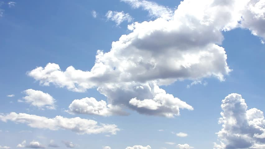 Nature, Nice Cloud & Sky, Timelapse rolling clouds - FULL HD, 1920x1080 - HD stock footage clip