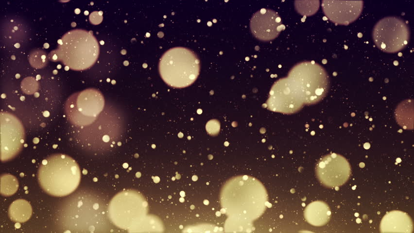 Abstract background with animation of flying and flickering bokeh particles or sparkles dust. Animation of seamless loop. | Shutterstock HD Video #26200475