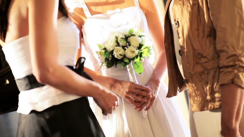 Young Mother Of The Bride: Pretty Young Bride Personal Time Mother Grandmother Before