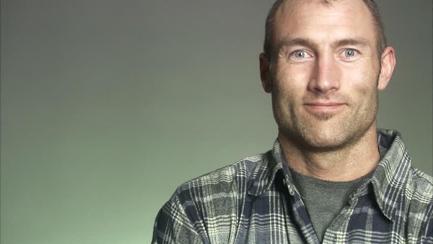 Portrait of a smiling man.