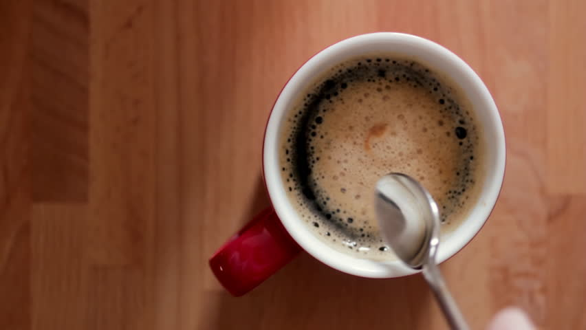 Cup of coffee - HD stock footage clip