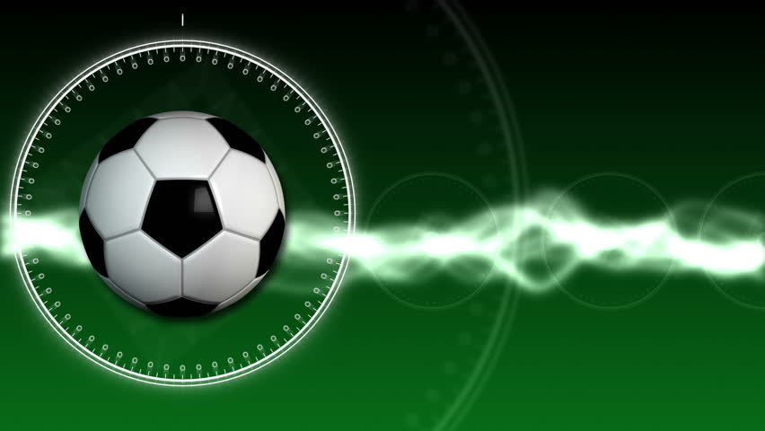 Soccer Ball Sport Background 01 (HD) - HD stock footage clip