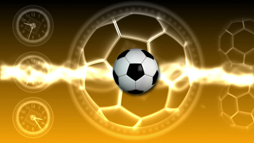 Soccer Ball Sport Background 24 (HD) - HD stock footage clip