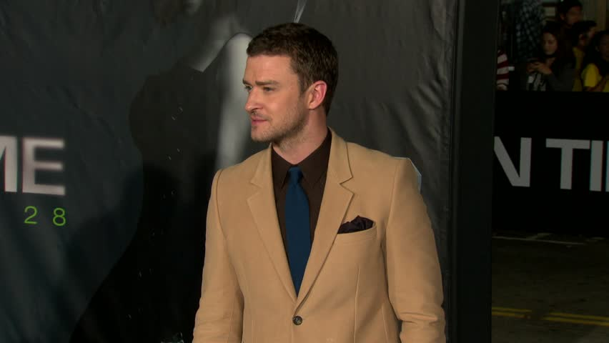 Los Angeles, CA - OCTOBER 20, 2011: Justin Timberlake, walks the red carpet at the In Time Premiere held at the Mann Village Theatre