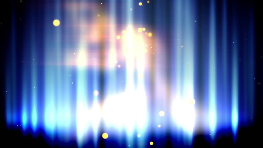 Magic blue fire loop - HD stock video clip