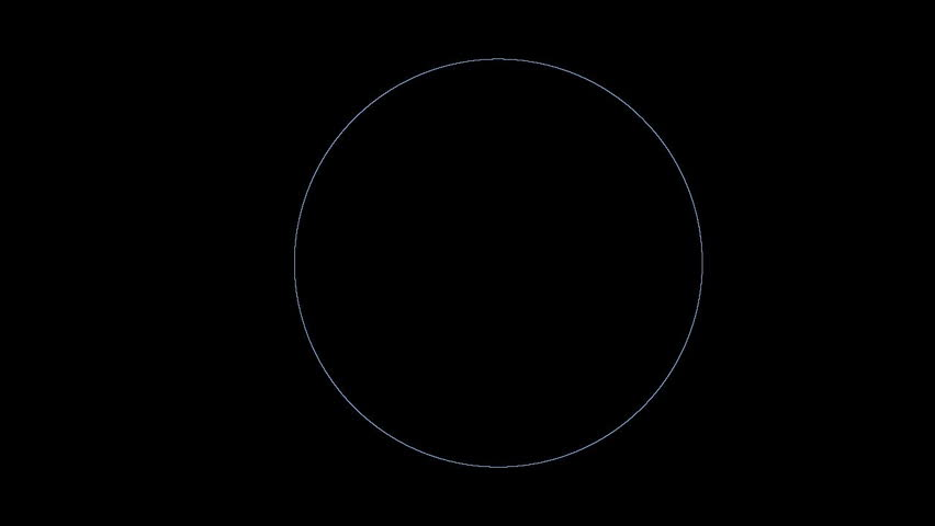 Blue circle transformation - 2. Loop. Can merge with other clips this serie. | Shutterstock HD Video #32210