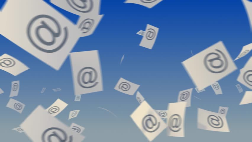 Flying paper documents with