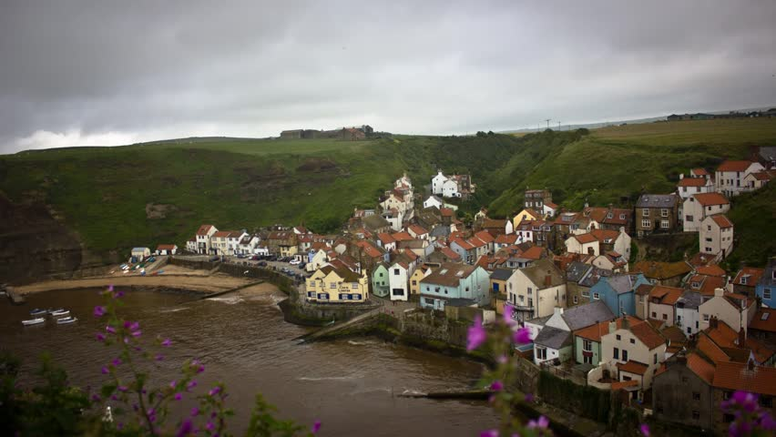 Seaside Town Staithes Timelapse