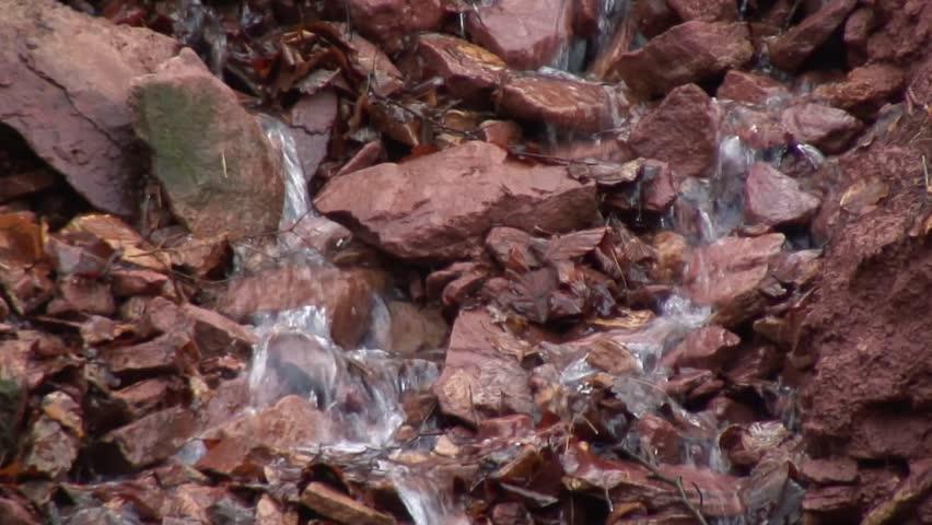 Klingenberger gorge - HD stock video clip