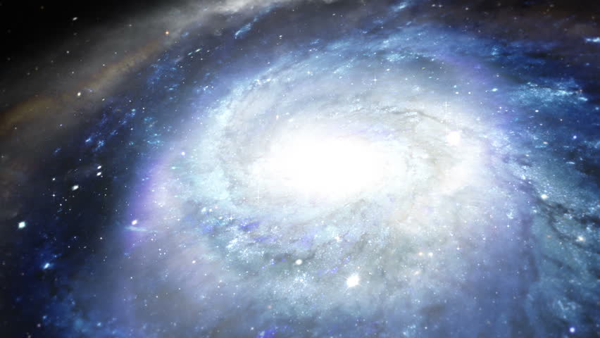 The Birth of a Galaxy - HD stock footage clip