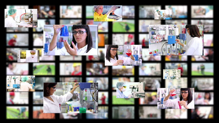 Business People. People at Work. Working in Office. Industrial Workers. 