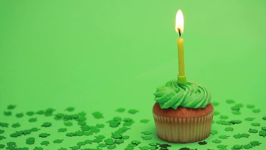 Birthday Cake Shamrock