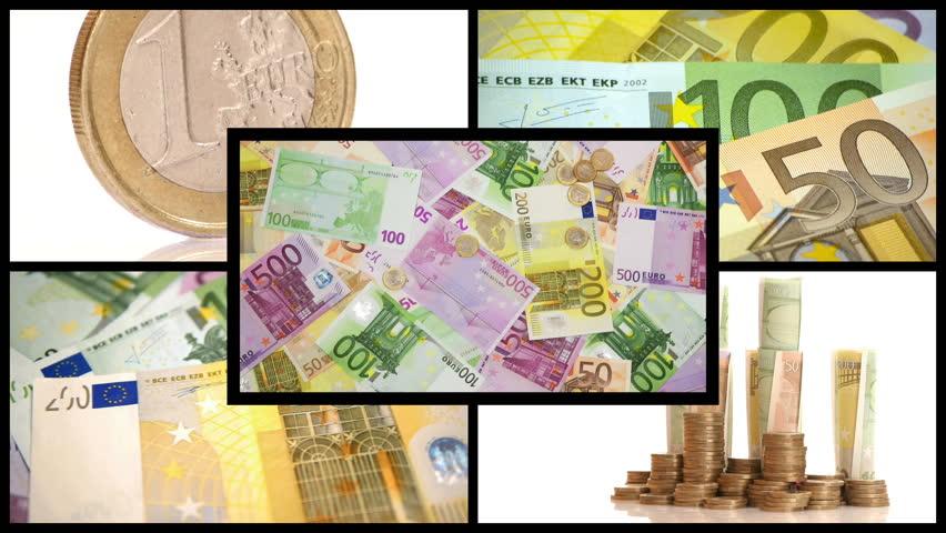 HD Montage - Money. scene 02 - HD stock footage clip