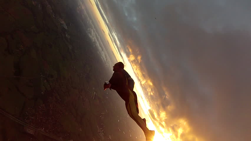 Skydive wing-suit