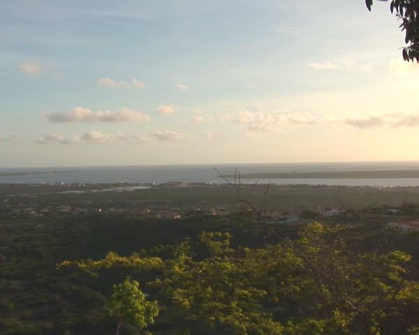 PAL: Bonaire overview - SD stock video clip