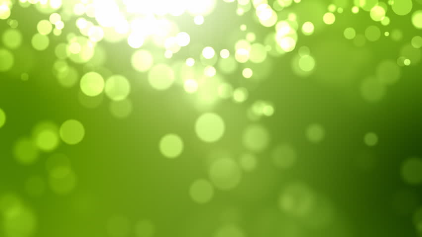Green Bokeh Background - HD stock video clip