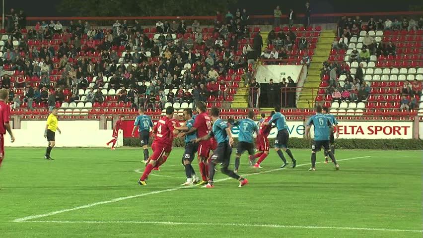 krusevac serbia september 8 football match between fc
