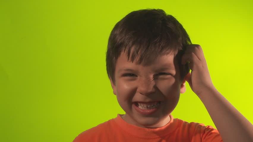 Confused Little Boy | Shutterstock HD Video #3695057