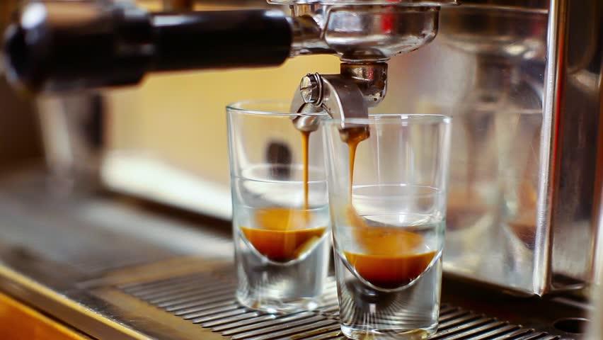 Coffee espresso preparation