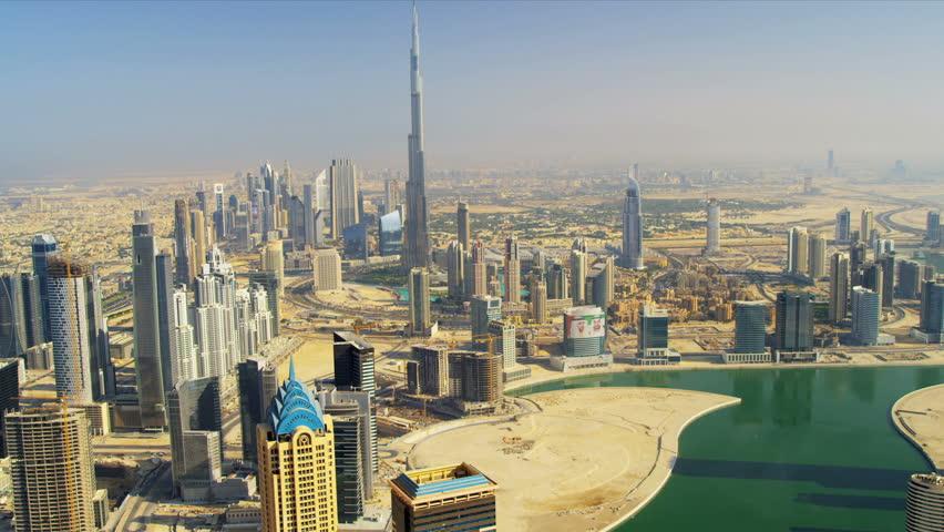 Aerial view burj khalifa dubai creek and downtown dubai uae red epic 4k uhd ultra hd - Dubai burj khalifa hd photos ...