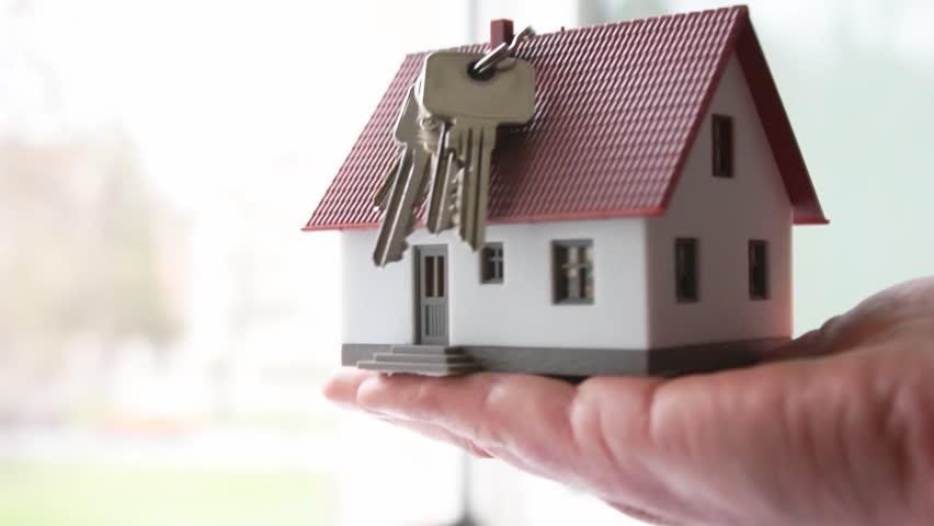 House Key Stock Footage Video Shutterstock