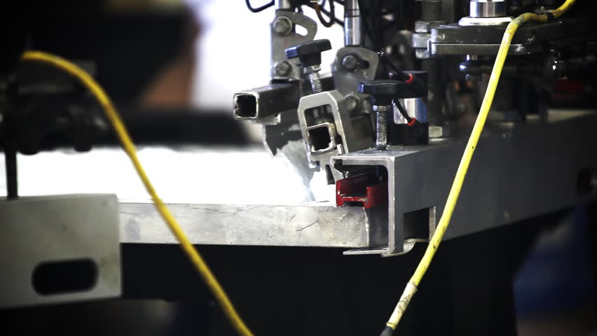 Automated Silk Screening Machine Close up