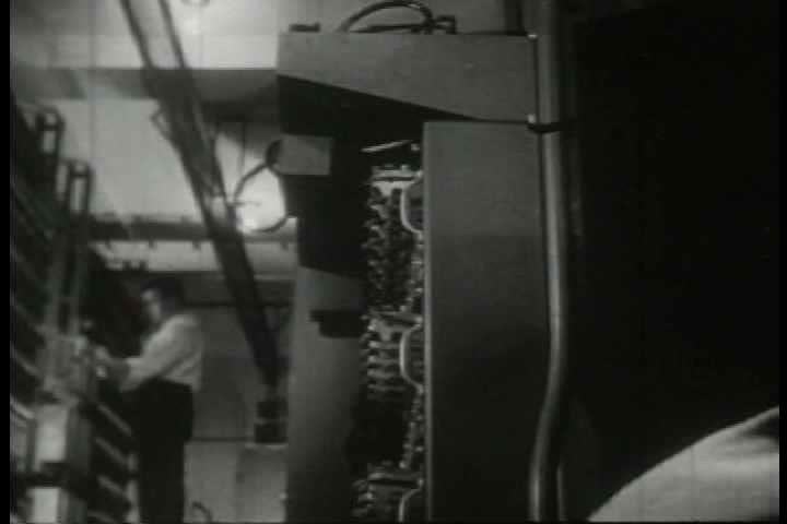 1940s - Archival film how the Western Union telegraph service delivers news and keeps people connected.